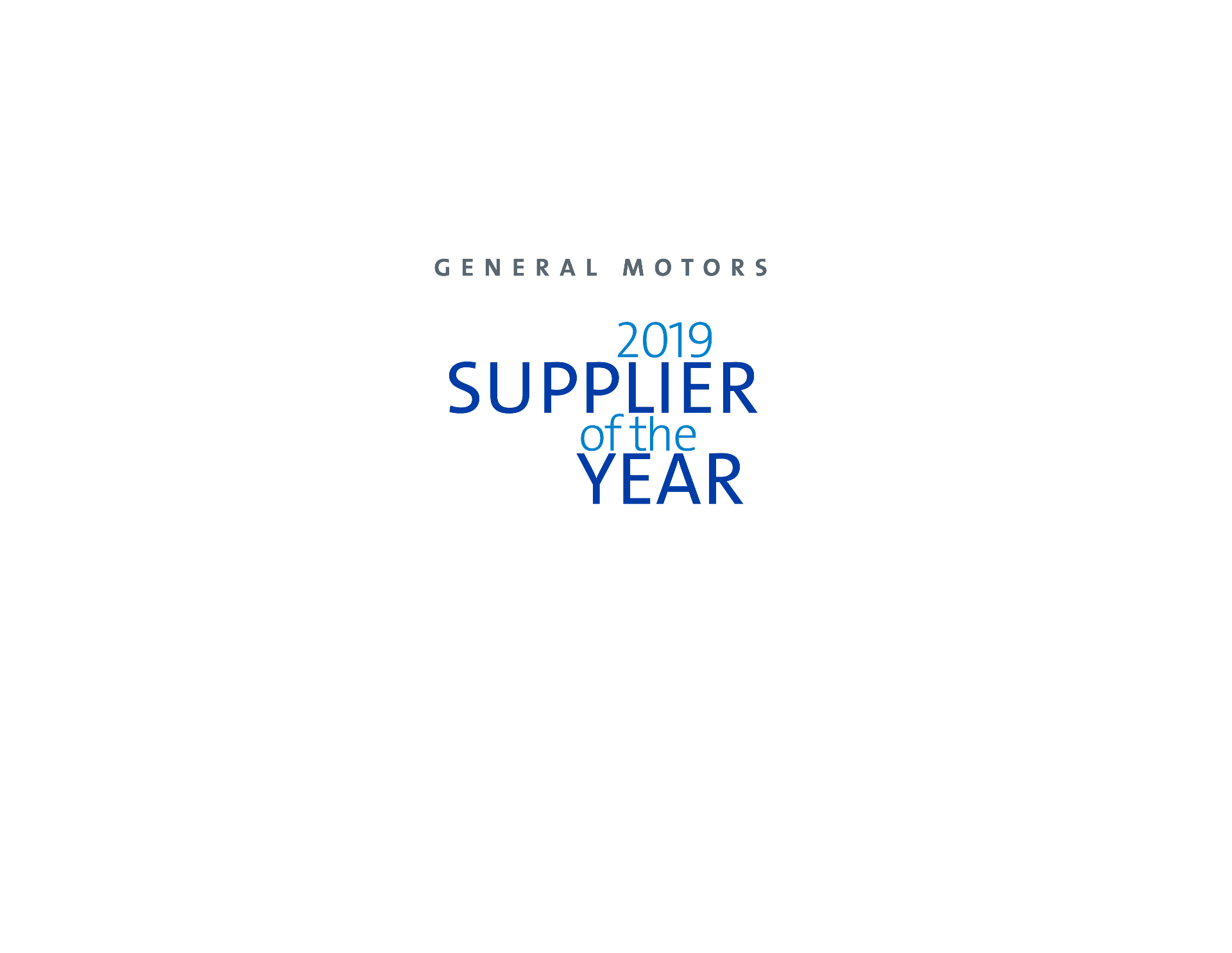 Innolux Corporation Recognized by General Motors as a 2019 Supplier of the Year Winner